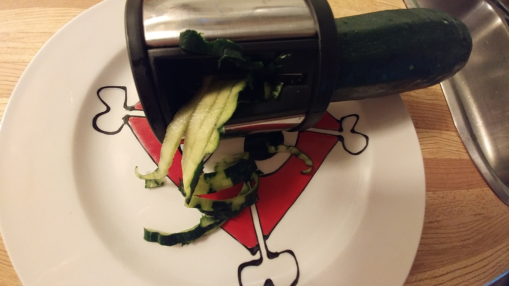 Basic spiralizer = shreddy, subpar zucchini noodles