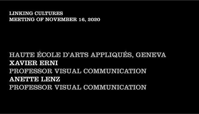 Meeting November 2