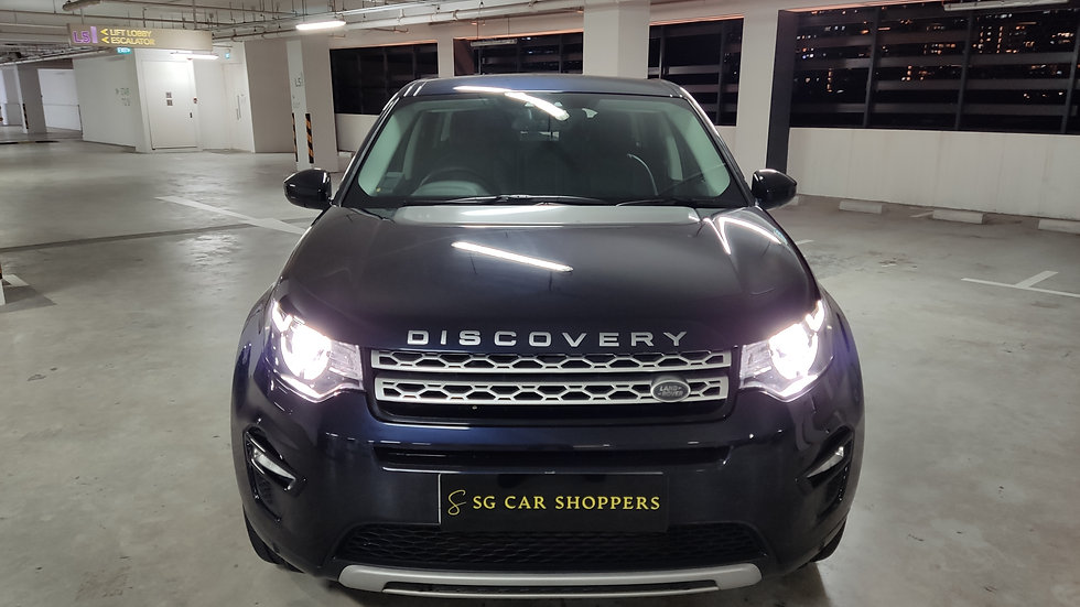Land Rover Discovery Sport 2.0A Si4 HSE 7-Seater Sunroof (Reg. Mar 2017)