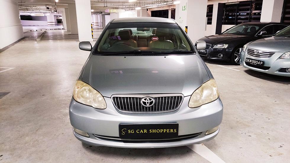 Toyota Corolla Altis 1.6A (COE till 07/2022)