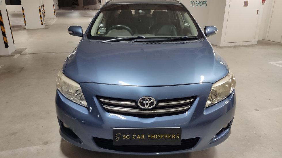 Toyota Corolla Altis 1.6A (COE till 02/2023)