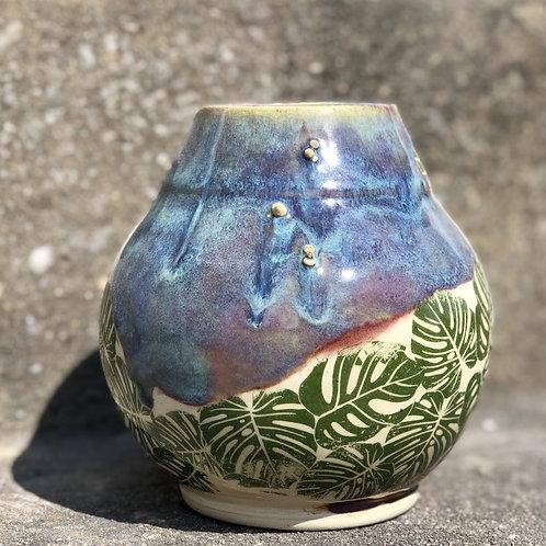 Monstera Flower Vase