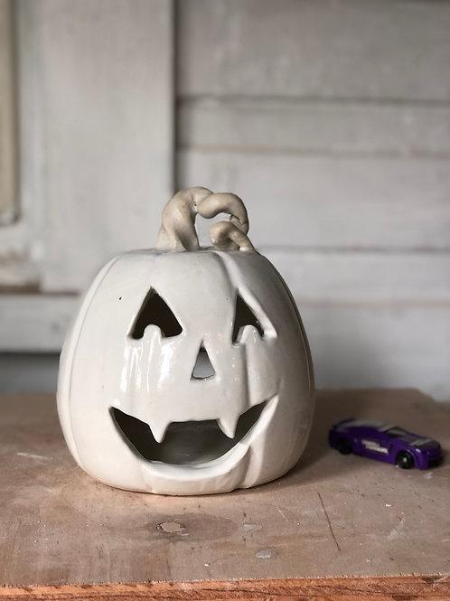 XL White Vampire Pumpkin