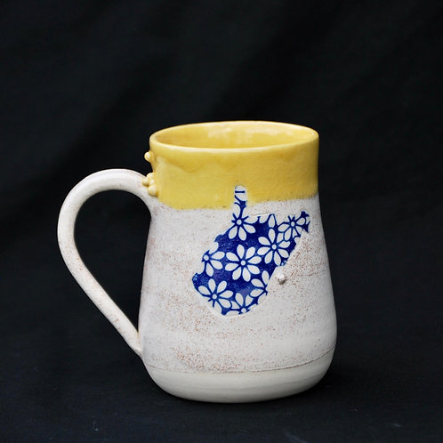Floral State Mugs