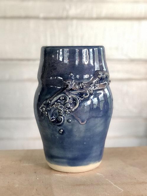 Vase Rococo Blue