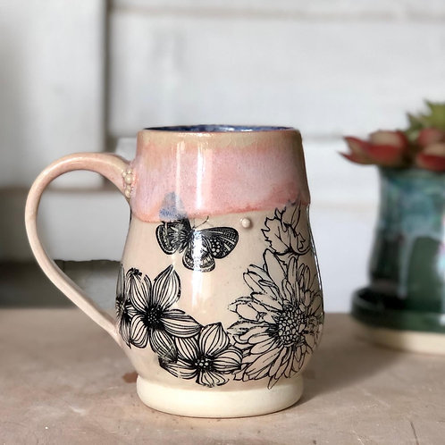 The Garden Hedge Witch Mug