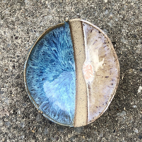 Trinket Dish - Blue and White