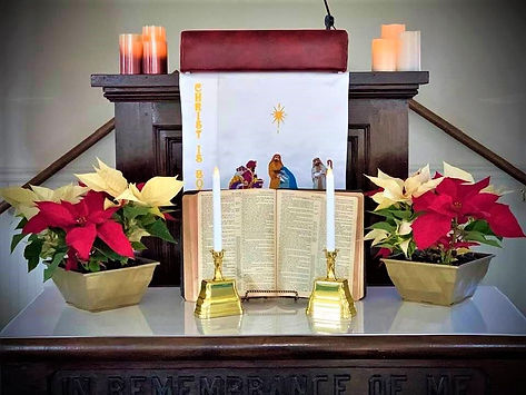 Candlelight Service with Nancy Page, Dec. 2019