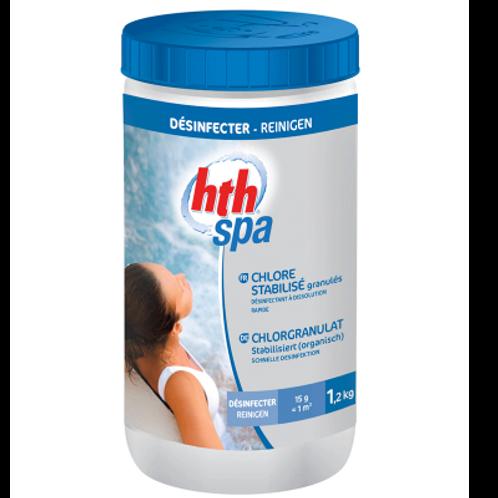 hth Spa chlore stabilisé granulés