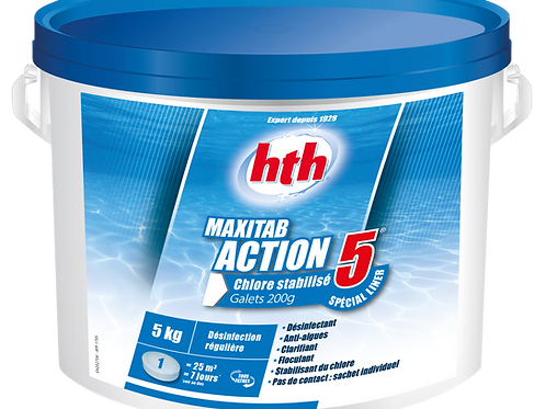 hth MAXITAB ACTION 5 200g Spécial Liner