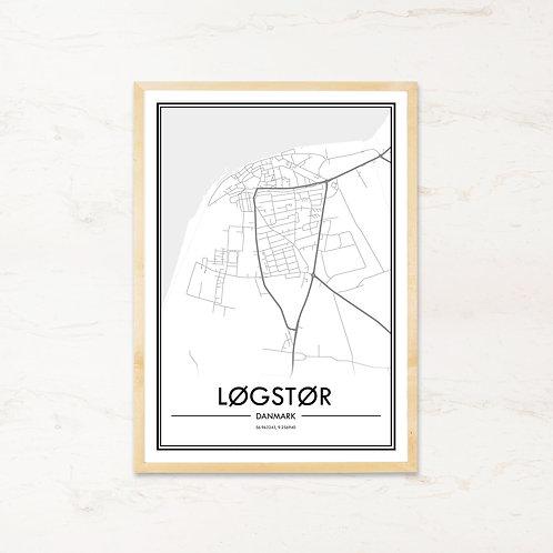Løgstør plakat - Byplakat fra IMAGI.dk