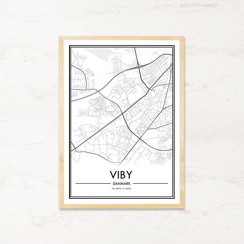 Viby plakat - Byplakat fra IMAGI.dk
