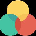 Logo for Farvens opbygning på IMAGI BLOG