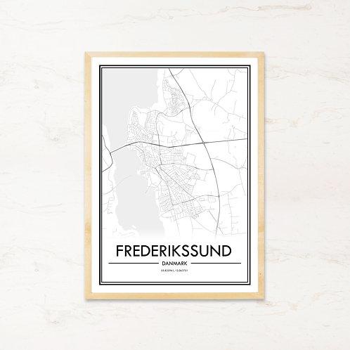 Frederikssund plakat - Byplakat fra IMAGI.dk