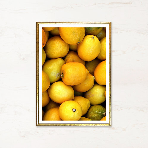 Citron - plakat