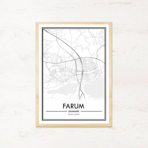 Farum plakat - Byplakat fra IMAGI.dk