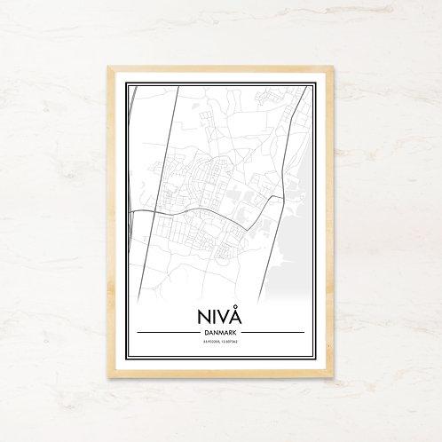 Nivå plakat - Byplakat fra IMAGI.dk