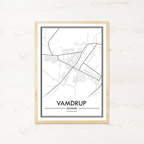 Vamdrup plakat - Byplakat fra IMAGI.dk