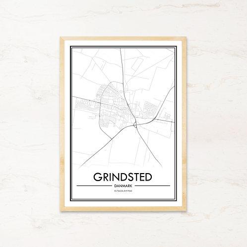 Grindsted plakat - Byplakat fra IMAGI.dk