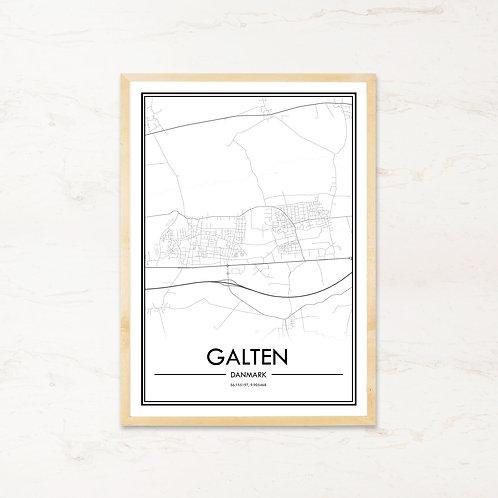 Galten plakat - Byplakat fra IMAGI.dk