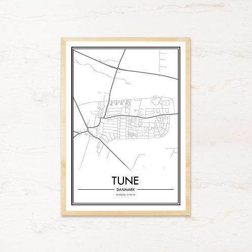 Tune plakat - Byplakat fra IMAGI.dk