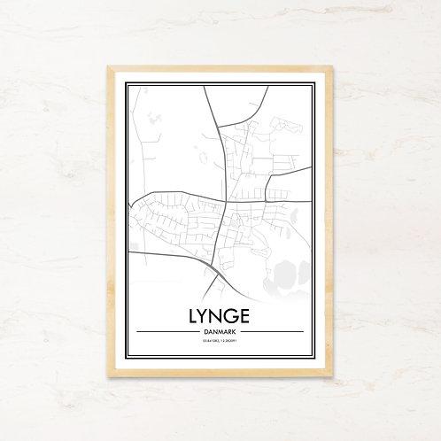 Lynge plakat - Byplakat fra IMAGI.dk