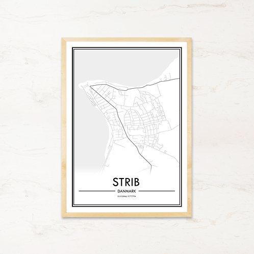 Strib plakat - Byplakat fra IMAGI.dk