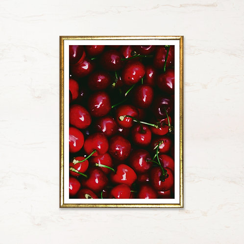 Kirsebær - plakat