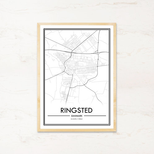 Ringsted plakat - Byplakat fra IMAGI.dk