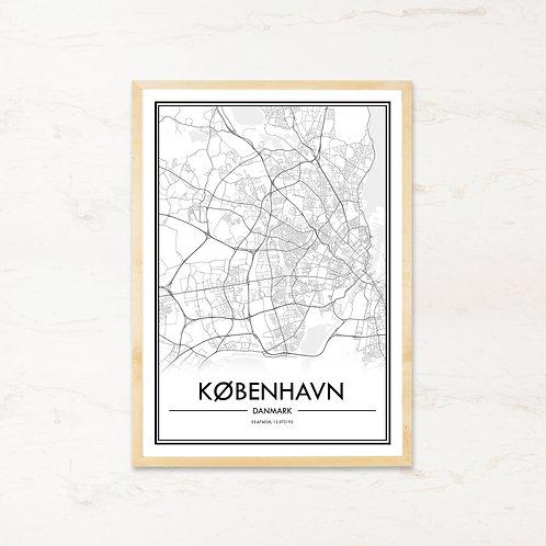 København plakat - Byplakat fra IMAGI.dk