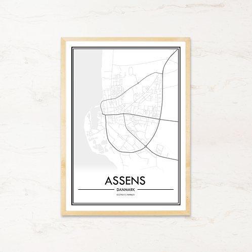 Assens plakat - Byplakat fra IMAGI.dk