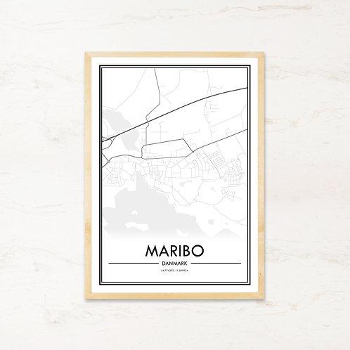 Maribo plakat - Byplakat fra IMAGI.dk