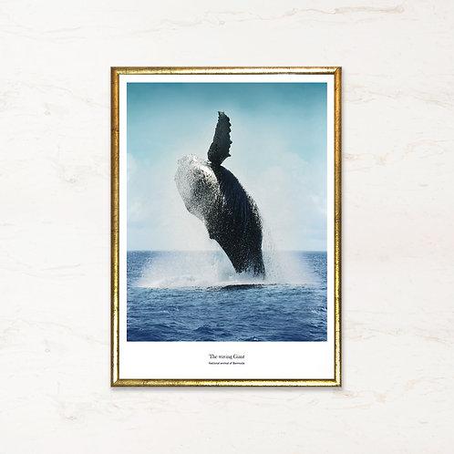 The Waving Giant - Fotokunst