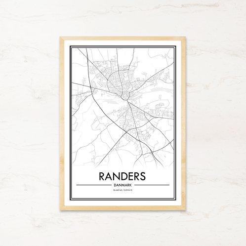 Randers plakat - Byplakat fra IMAGI.dk
