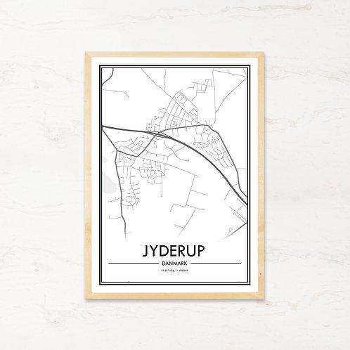 Jyderup plakat - Byplakat fra IMAGI.dk