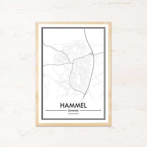 Hammel plakat - Byplakat fra IMAGI.dk