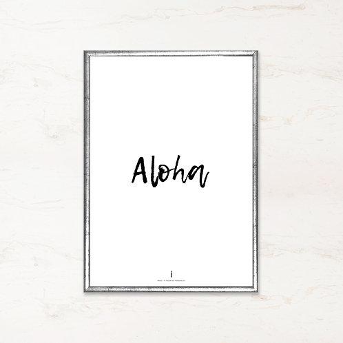 Citatplakat - Aloha
