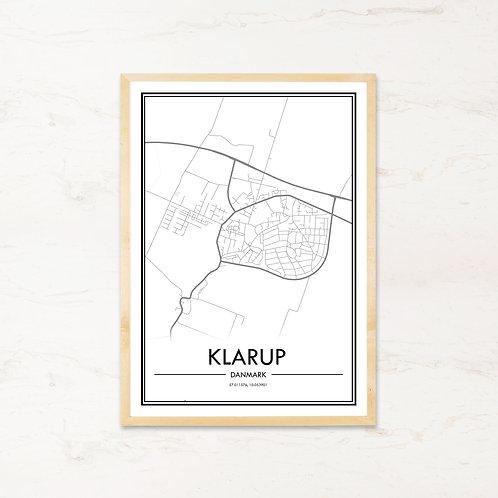 Klarup plakat - Byplakat fra IMAGI.dk