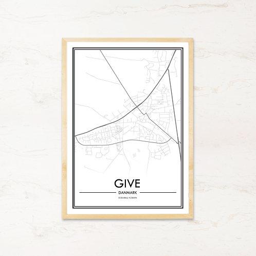 Give plakat - Byplakat fra IMAGI.dk