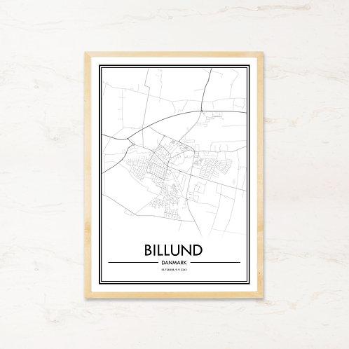 Billund plakat - Byplakat fra IMAGI.dk