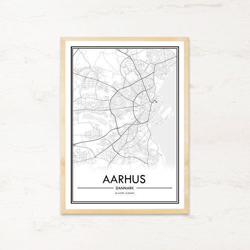 Aarhus plakat - Byplakat fra IMAGI.dk