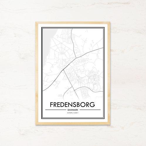 Fredensborg plakat - Byplakat fra IMAGI.dk