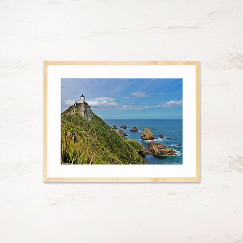 Nugget Point, New Zealand - Plakat