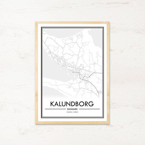 Kalundborg plakat - Byplakat fra IMAGI.dk