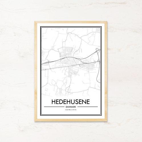 Hedehusene plakat - Byplakat fra IMAGI.dk