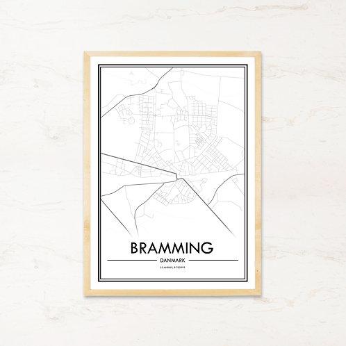 Bramming plakat - Byplakat fra IMAGI.dk