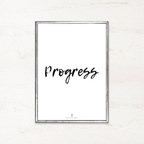 Citatplakat - Progress