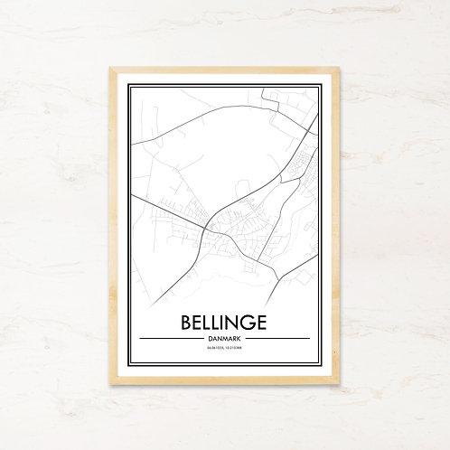 Bellinge plakat - Byplakat fra IMAGI.dk
