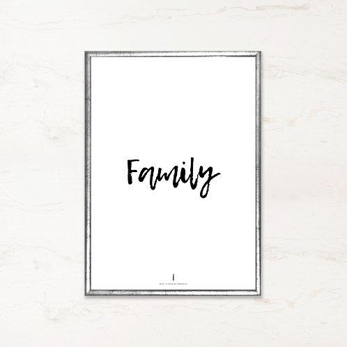 Citatplakat - Family