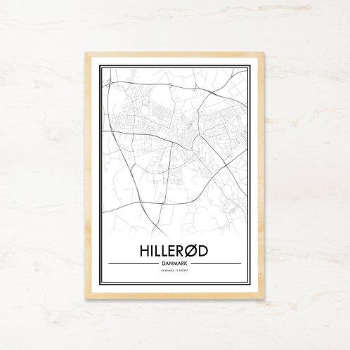 Hillerød plakat - Byplakat fra IMAGI.dk